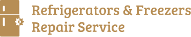 Refrigerators & Freezers Repair Service